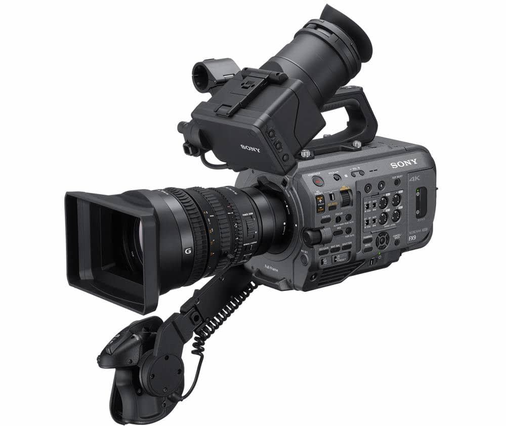 Sony FX9 now part of Films Solutions camera equipment. available for our production across canada